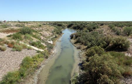 Pecos River Flume Image