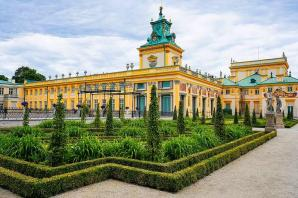 Wilanow Palace And Museum, Warsaw