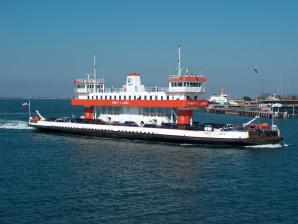 Ferry Terminal To Port Bolivar, Galveston