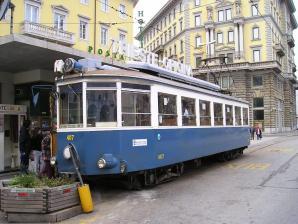 Opicina Tramway, Trieste
