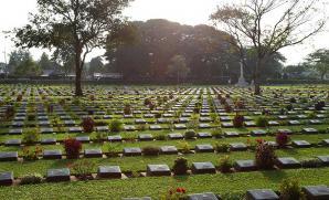 Kanchanaburi War Cemetery, Kanchanaburi