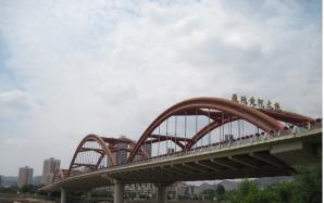 Iron Bridge Of Yellow River, Lanzhou