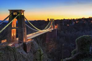 The Clifton Suspension Bridge, Bristol