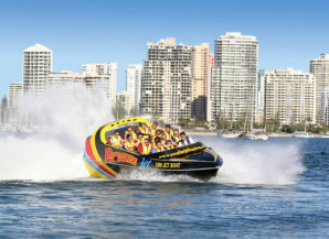 Paradise Jet Boating, Main Beach