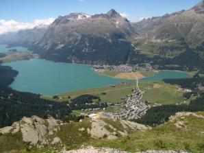 Piz Corvatsch, St Moritz