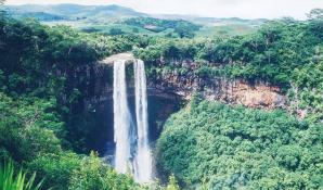 Chamarel Waterfall, Chamarel