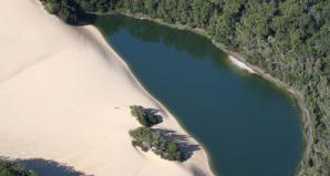 Lake Wabby And Hammerstone Sandblow, Fraser Island