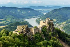 Ruins Of Aggstein Castle, Melk