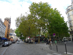 Place Des Abbesses, Paris