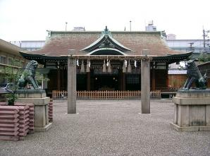 Imamiya Ebisu Shrine, Osaka