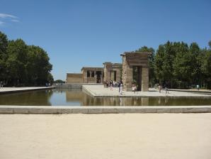 Jardins Do Templo De Debod, Madrid