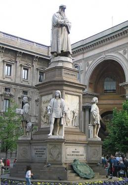 Monumento A Leonardo Da Vinci, Milan