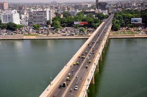 Nehru Bridge, Ahmedabad
